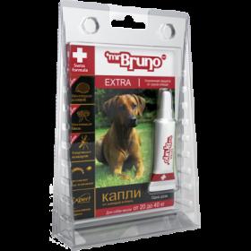Mr.Bruno EXTRA  Капли инсектоакарицидные для собак 20-40 кг