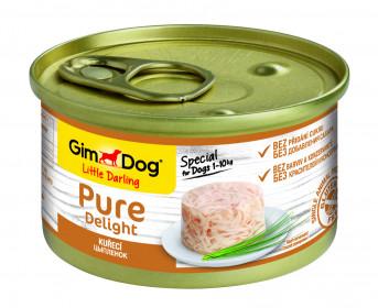 GimDog, Pure Delight консервы для собак из цыпленка