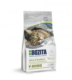 Bozita Indoor & Sterilized сух. пит. д/стерилиз. растущих, взросл. и малоподвижн. кошек с курицей