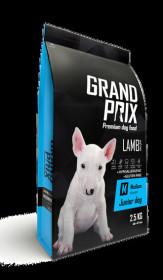 Сухой корм для щенков собак средних пород GRAND PRIX Medium Junior ягненок