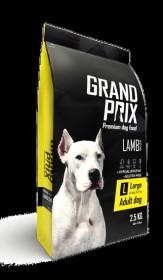 Сухой корм для взрослых собак крупных пород GRAND PRIX Large Adult ягненок