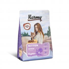 Karmy Kitten сухой корм для котят до 1 года, беременных и кормящих кошек с  индейкой