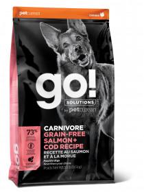GO! CARNIVORE GF Recipe DF 34/16 сухой беззерновой корм д/собак всех возрастов, Лосось и Треска