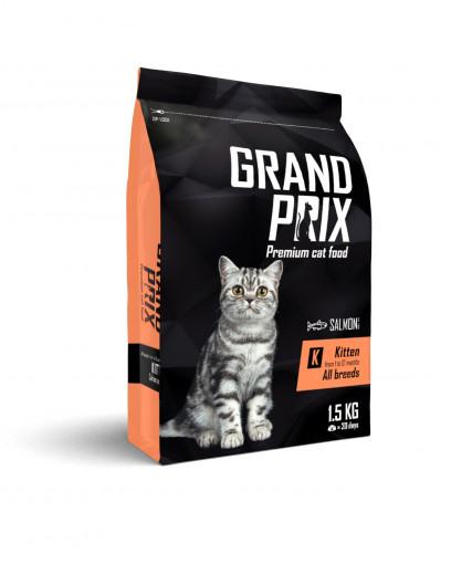 Сухой корм для котят GRAND PRIX Kitten с лососем