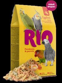 RIO корм яичный для средних и крупных попугаев