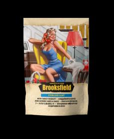 Brooksfield Sterilized/Light Cat Turkey консервы для стерилизованных/кастрированных котов и кошек с индейкой в соусе (пауч)