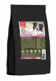 BLITZ ADULT FRESH LAMB низкозерновой корм для взрослых собак Свежий Ягненок