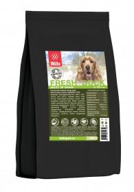 BLITZ ADULT FRESH DUCK низкозерновой корм для взрослых собак собак Свежая Утка