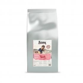 Karmy Delicious Medium & Maxi сухой корм для собак средних и крупных пород  привередливых в питании с телятиной