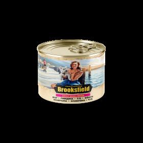 Brooksfield Adult Small  Dog консервированный корм для собак мелких пород с говядина и рисом