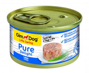 GimDog, Pure Delight консервы для собак из тунца