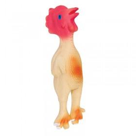 """TRIOL Игрушка для собак из латекса """"Петушок"""", 150мм"""