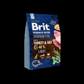 Brit Premium by Nature Ligh для собак всех пород, склонных к полноте