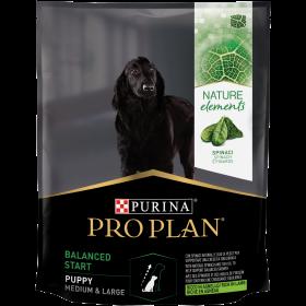 Pro Plan Nature Elements для щенков средних и крупных пород, с высоким содержанием ягненка