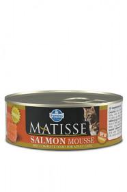 Farmina Matisse Salmon Mousse влажный корм , мусс для кошек с лососем