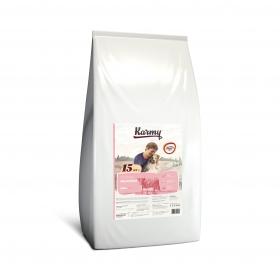 Karmy Delicious Mini сухой корм для собак мелких пород привередливых в питании с телятиной