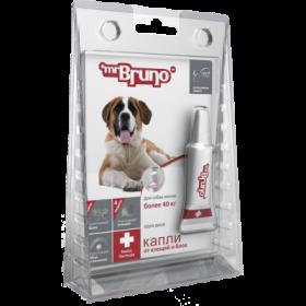Mr.Bruno Plus - капли инсектоакарицидные для собак  более 40 кг