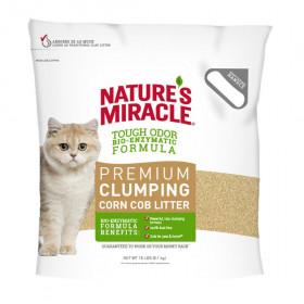 Natures Miracle Cat Premium Corn Cob Litter наполнитель комкующийся кукурузный, 8,16 кг
