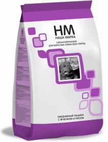 Наша Марка сухой корм для взрослых собак всех пород гипоаллергенный с ягненком и рисом