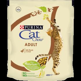 Purina Cat Chow, сухой корм для взрослых кошек с уткой