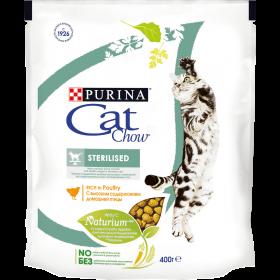 Purina Cat Chow, сухой корм для взрослых стерилизованных кошек и кастрированных, с высоким содержанием домашней птицы