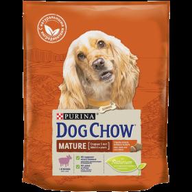 Dog Chow Корм сухой для взрослых собак старшего возраста с ягненком