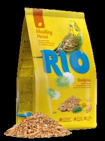 RIO корм для волнистых попугаев. Рацион в период линьки