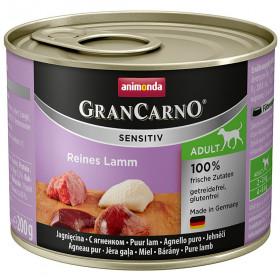 ANIMONDA GRAN CARNO SENSITIV консервы для собак с чувствительным пищеварением с ягненком