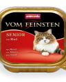 ANIMONDA VOM FEINSTEN консервы для кошек старше 7 лет с говядиной 100 гр.