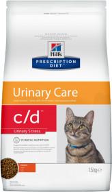 Hill's Prescription Diet C/D Urinary Stress, профилактика цистита и МКБ, в т.ч. вызванные стрессом, с курицей