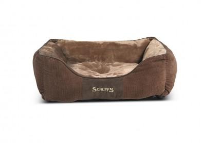 "SCRUFFS Лежак ""Chester"", шоколад, размер 50х40х13см"