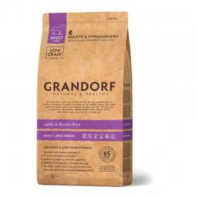 Сухой корм GRANDORF Ягнёнок с рисом Макси для собак крупных пород от 1 года