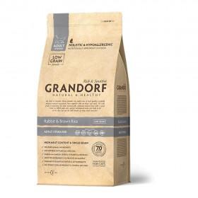 Сухой корм GRANDORF Кролик с рисом Sterilised для взрослых стерилизованных или пожилых кошек от 1 года