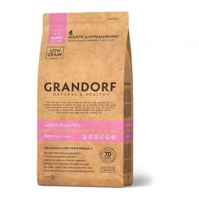 Сухой корм GRANDORF Ягнёнок с рисом для щенков в возрасте от 3 недель, беременных и кормящих сук