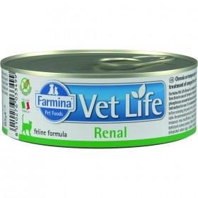 Farmina Vet Life Renal влажный корм для кошек для поддержания функции почек при почечной недостаточности