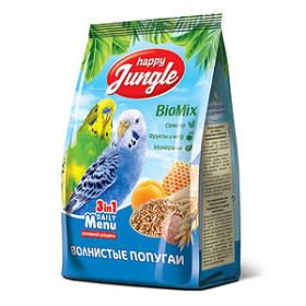 HAPPY JUNGLE Корм для волнистых попугаев