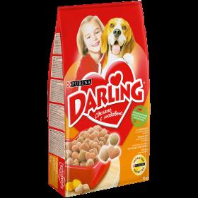 Darling корм сухой полнорационный для взрослых собак, с птицей и овощами
