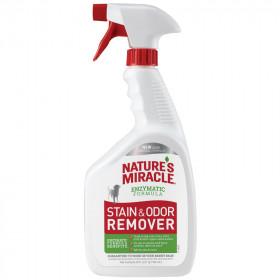 8in1 NATURE'S MIRACLE S&O Remover Уничтожитель пятен и запахов, против повторных меток для собак, 709 мл