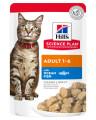Hill's Science Plan пауч для взрослых кошек, с океанической рыбой в соусе, 85г