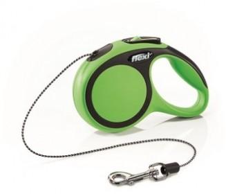 """FLEXI Рулетка """"New Comfort"""", XS 3м до 8кг трос зеленый"""