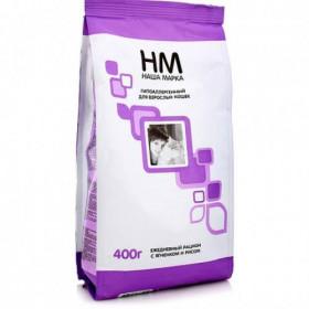 Наша Марка сухой гипоаллергенный корм для взрослых кошек с ягнёнком и рисом