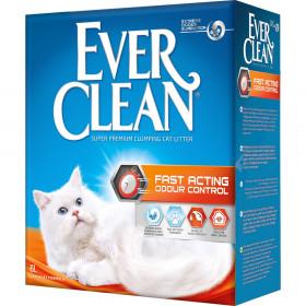 Ever Clean Fast Acting , наполнитель для мгновенного контроля запаха, 6 л