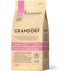 Сухой корм GRANDORF Ягнёнок с рисом Kitten для котят в возрасте от 3 недель, беременных и кормящих кошек