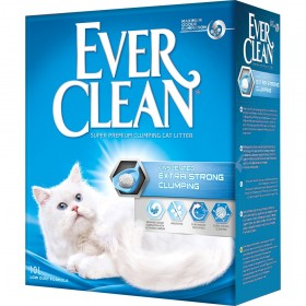 Ever Clean Extra Strong Clumping Unscented наполнитель комкующийся без ароматизаторов, 10л