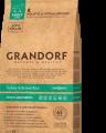 Сухой корм GRANDORF Индейка с рисом Макси для собак крупных пород от 1 года