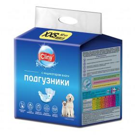 Cliny подгузники XXS 1-2,5 кг, 12 шт./уп.