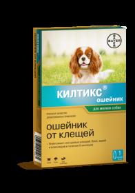 Килтикс ошейник инсектицидный для собак мелких, 35 см