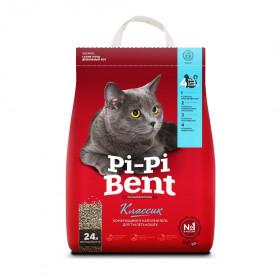 Pi-Pi Bent Classic  наполнитель комкующийся, пакет 10 кг