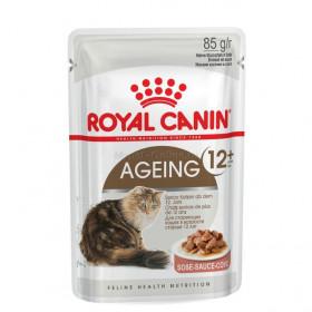 Корм для кошек Royal Canin Ageing 12+ соус, 85 г