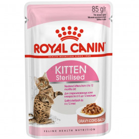Корм для котят Royal Canin Kitten Sterilised Gravy, 85 г